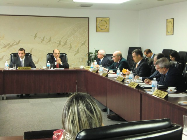 During the meeting of GRULAC.