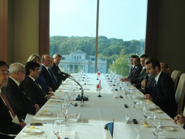 Welcome remarks by H.E. Jorge Kosmas Sifaki, Ambassador of Panama to Japan and President of the Heads of Mission of Latin America and the Caribbean Countries in Japan (GRULAC), during a lunch meeting with Mr. Luis Alberto Moreno, President of the Inter-American Development Bank (IDB).