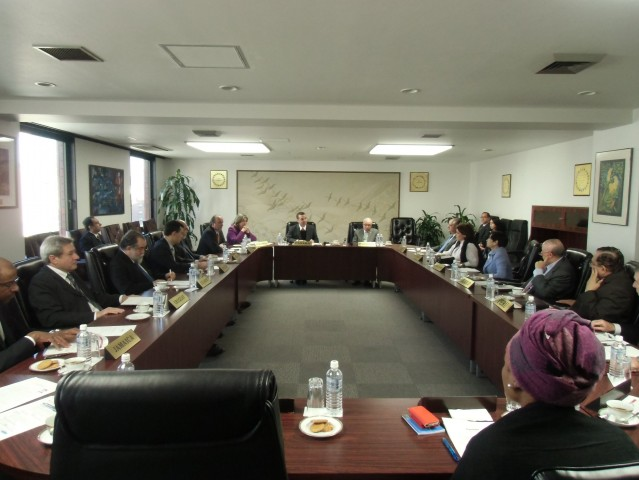 During the meeting of Heads of Missions of GRULAC.
