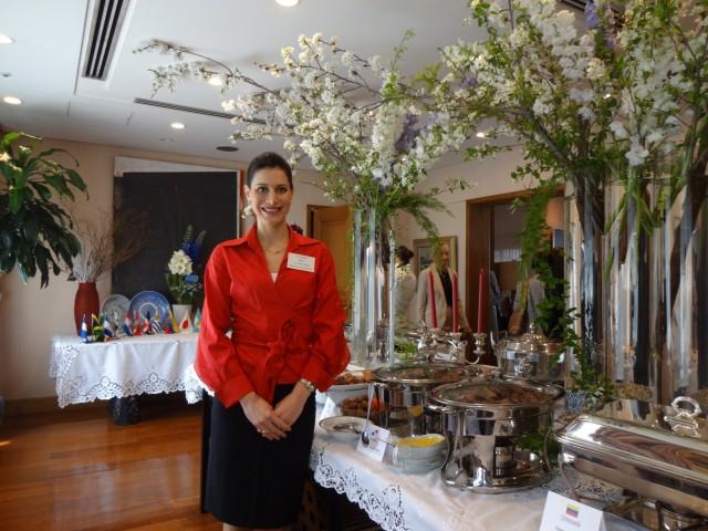 Mrs. Ileana de la Guardia de Kosmas, Wife of the Ambassador of Panama to Japan.