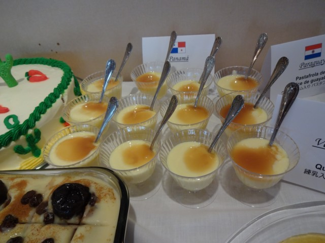 Pudding, a typical Panamanian dessert