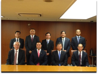 Meeting between the Panama Maritime Authority and the Japan Shipowner´s Association (JSA)