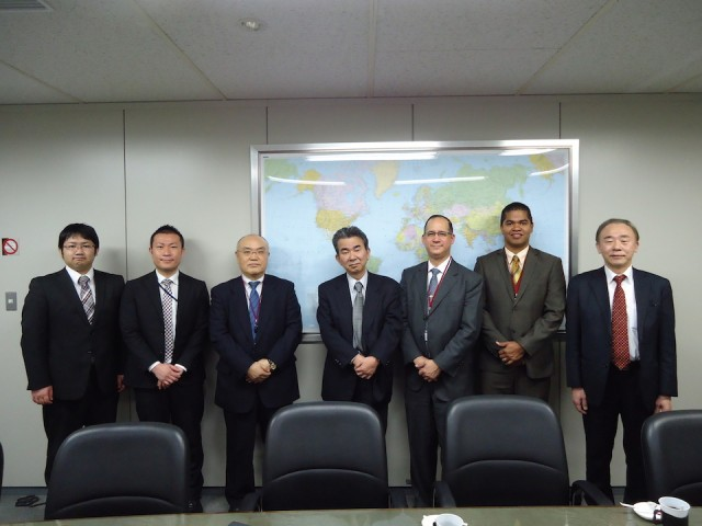 During the visit to MMSL Japan Ltd., on February 16th.