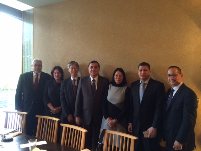 Sica working lunch with director general of latin america and