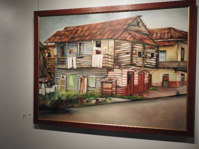 Panamanians' paintings