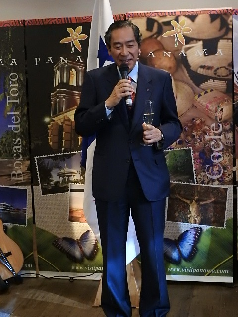 Mr. Makoto Misawa, President of the Panama Japan Friendship Association and Former Ambassador