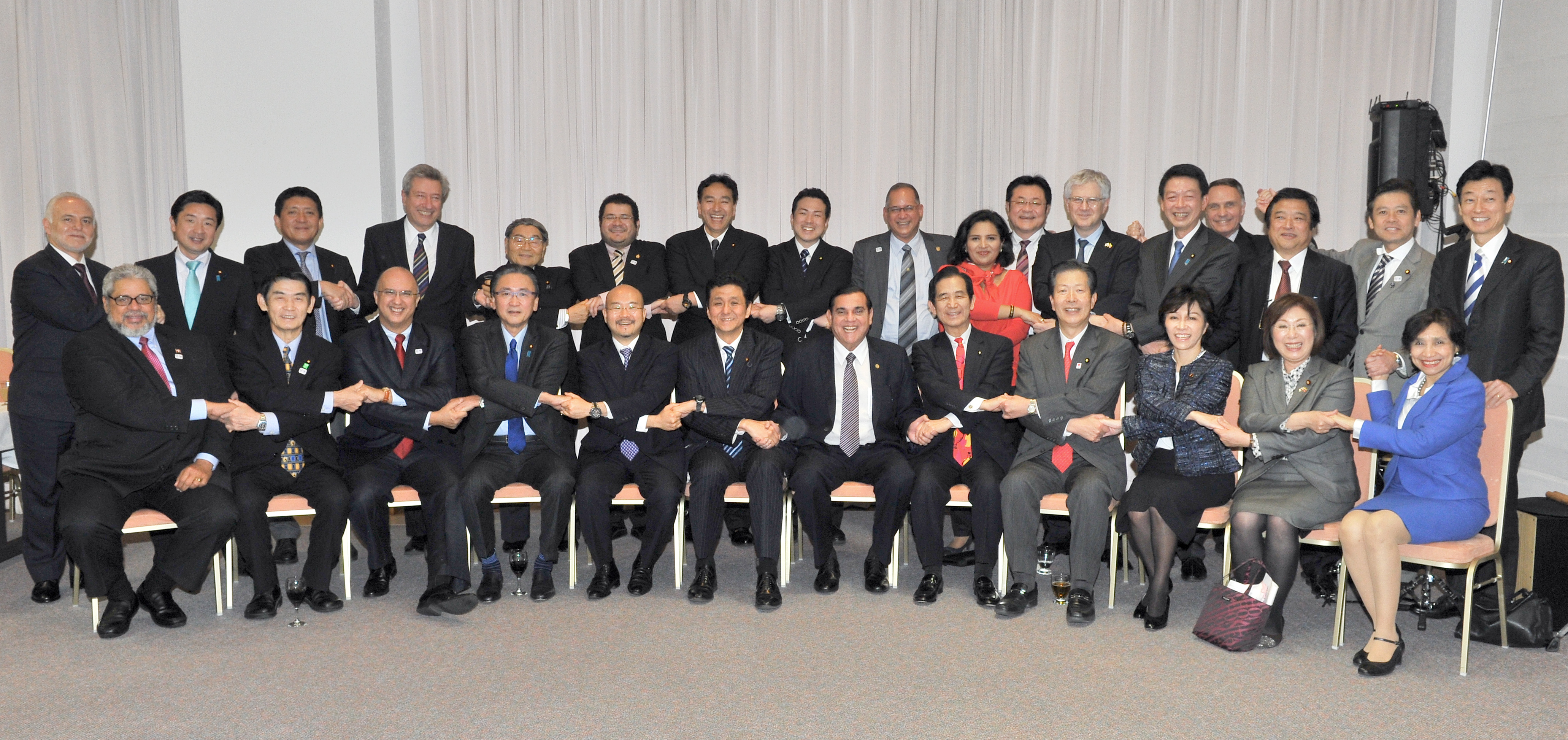 Ambassadors and the parliamentarians