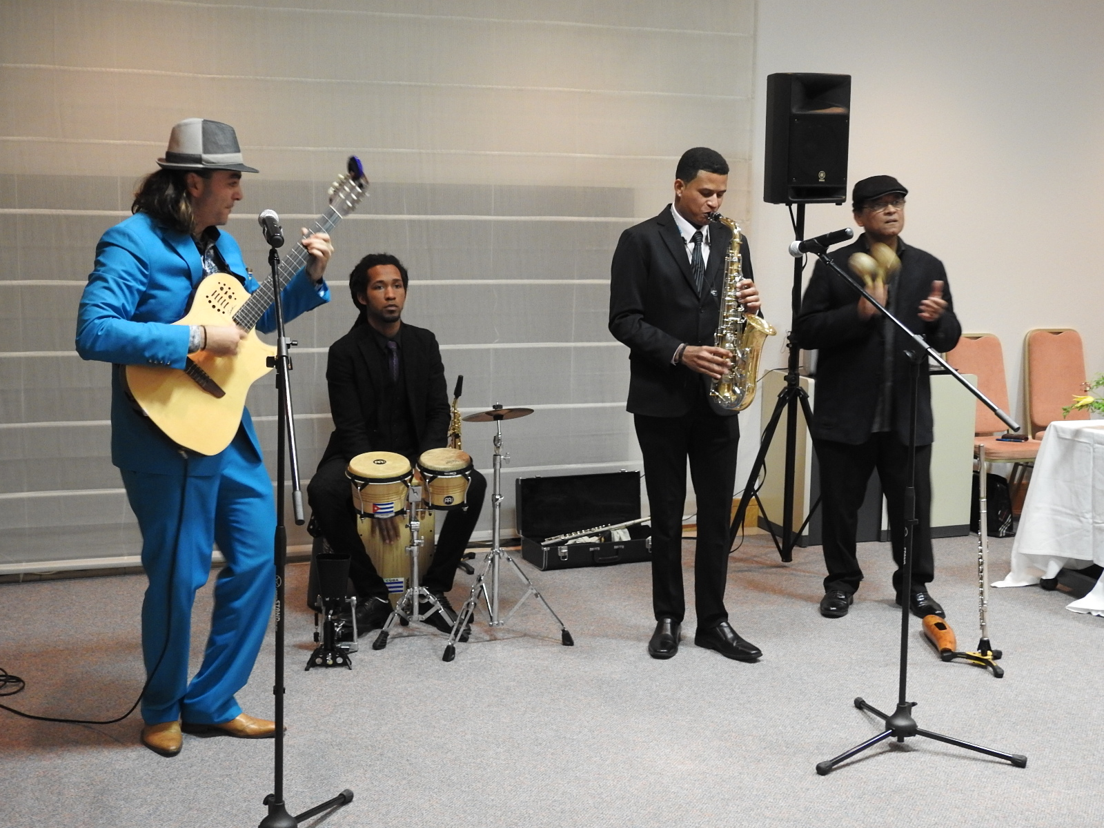 Latin American and Caribbean music concert