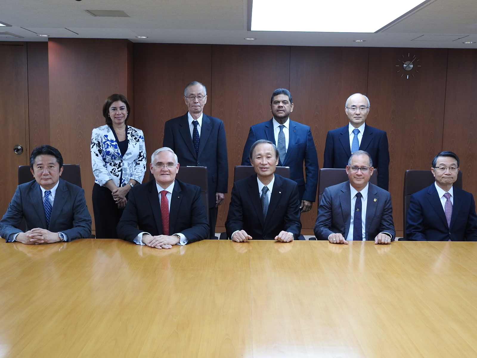 Meeting with the Japan Shipowners Association (JSA)