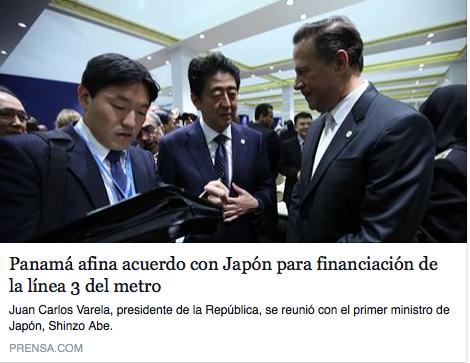 prensa espanol embassy of panama in japan