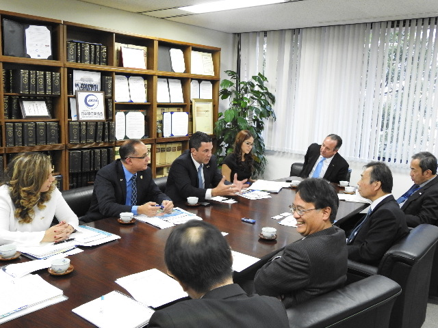 Meeting with the Japan Association of Travel Agents (JATA)