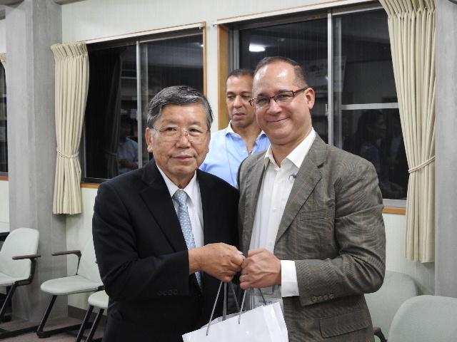 Mr. Kosugi and Ambassador Diaz