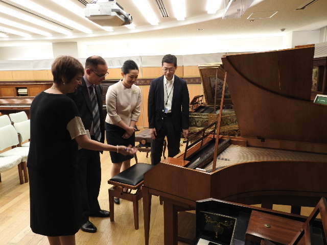 Visit of the Museum of Min-on Concert Association