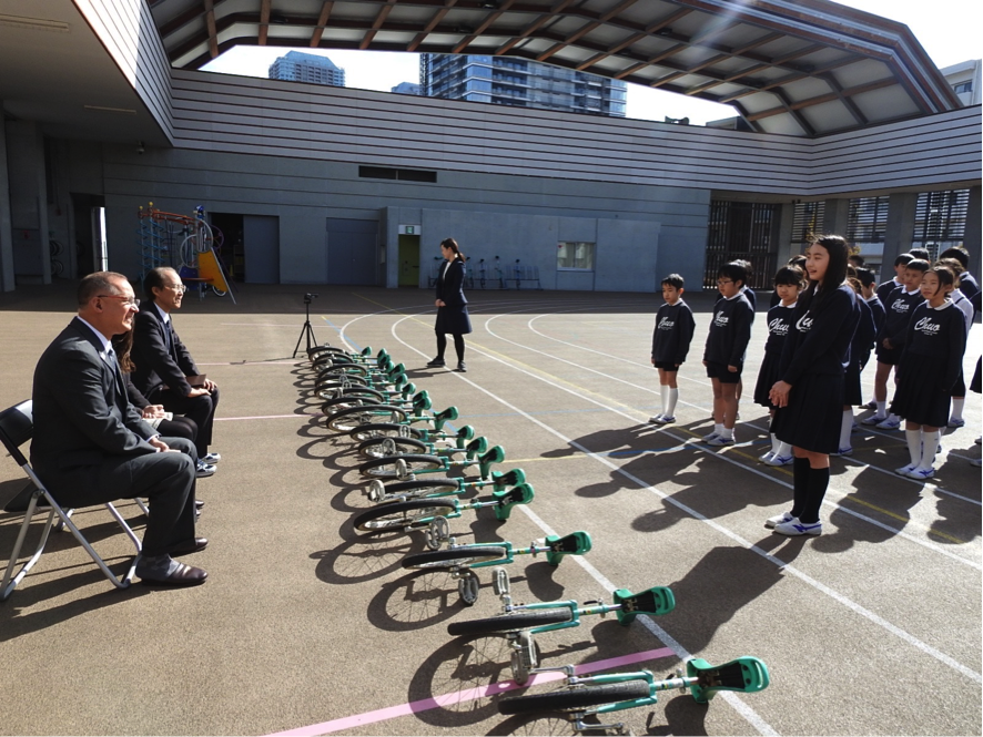 Monocycle performance by fifth graders students