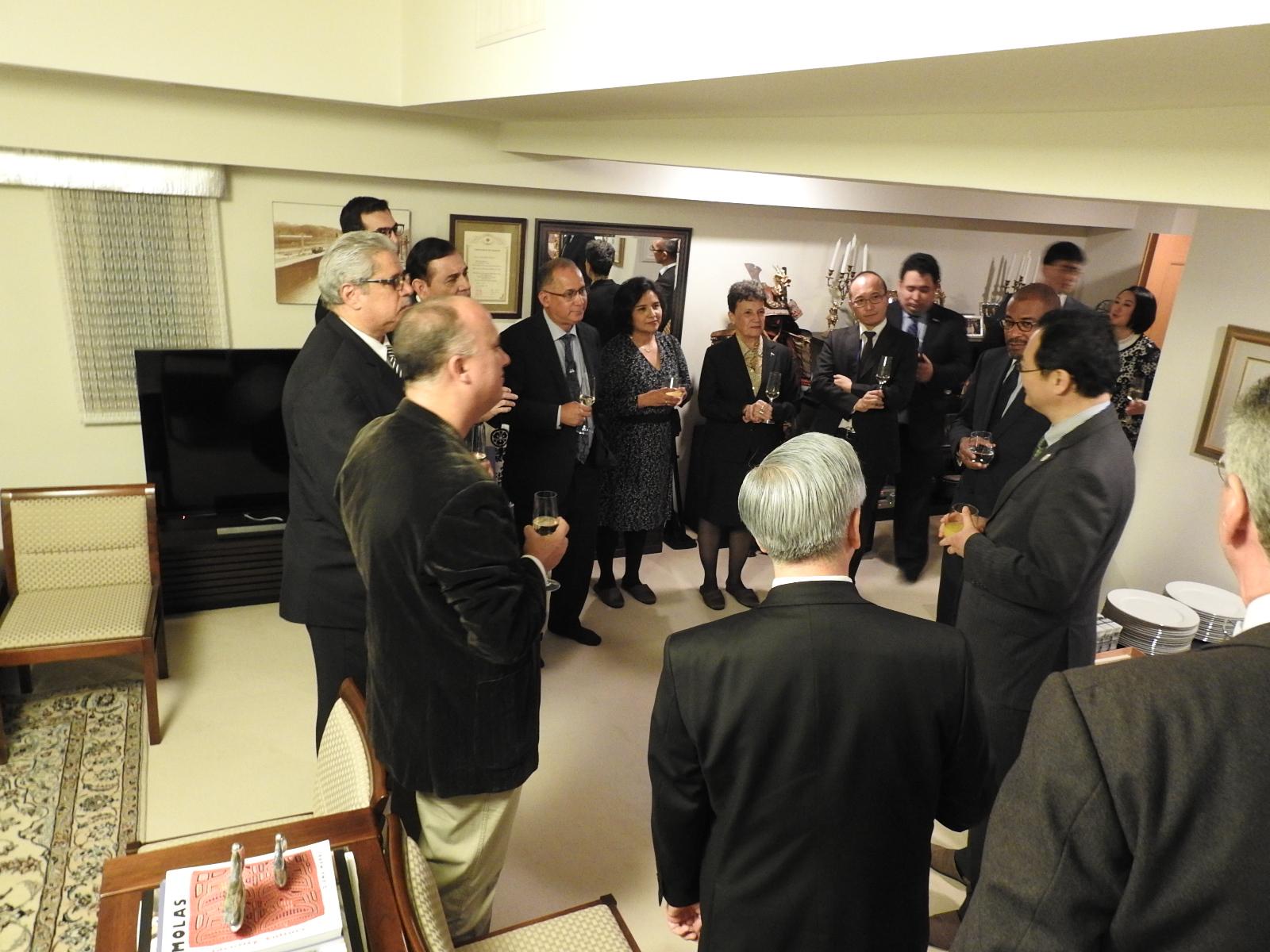 外務省中前隆博中南米局長による挨拶