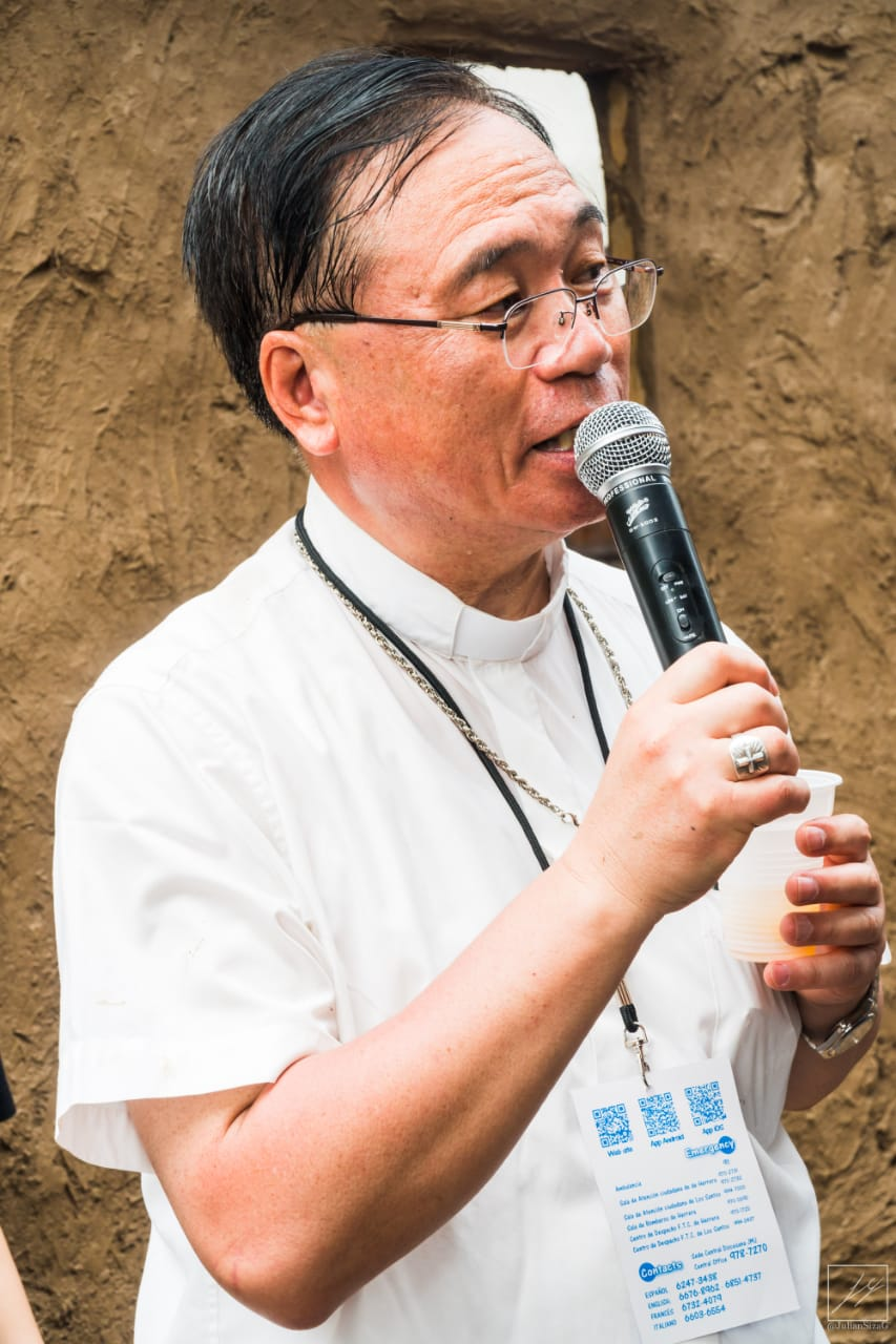 山野内倫昭さいたま教区司教による感謝の言葉