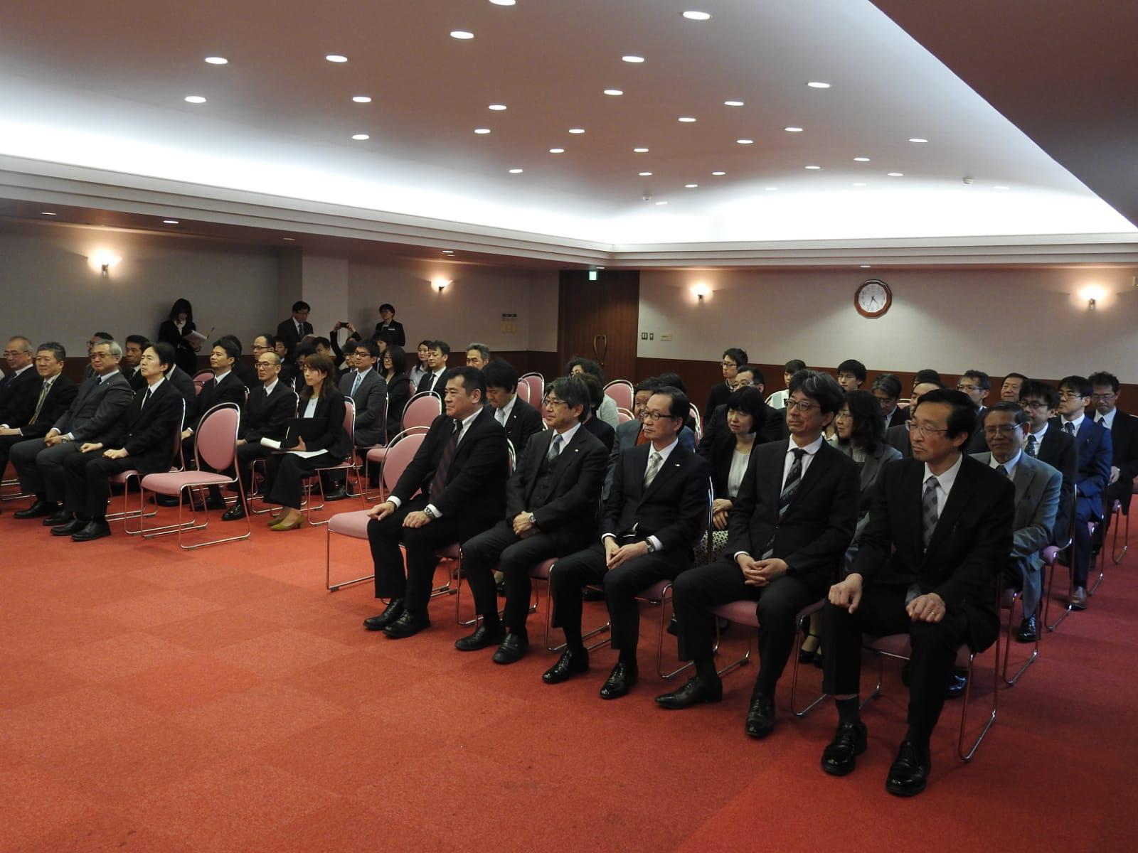 式典の参加者