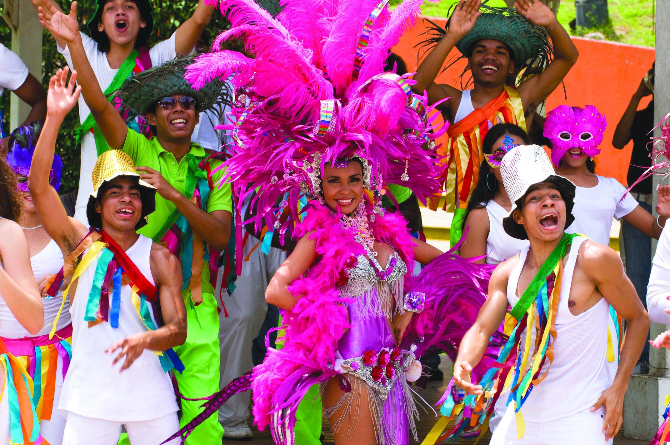 カーニバルはパナマの一大イベント
